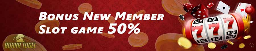 bonus new member game slot online